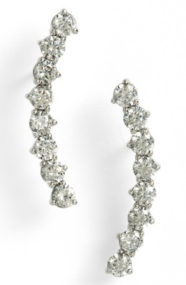 Women's Nadri Salome East West Crystal Ear Crawlers $45 thestylecure.com