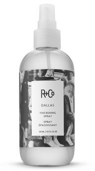 R+Co DALLAS Thickening Spray/8.5 oz. $28 thestylecure.com