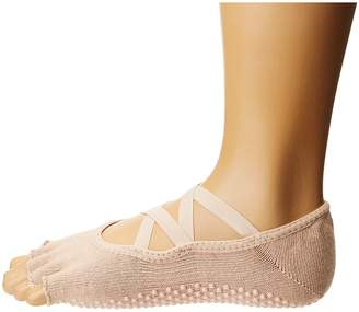 toesox Elle Half Toe w/ Grip Women's No Show Socks Shoes