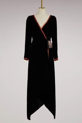 Peter Pilotto Velvet maxi dress