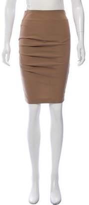 Gunex Pleated Pencil Skirt