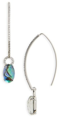 Women's Judith Jack Tropical Touches Threader Earrings $125 thestylecure.com