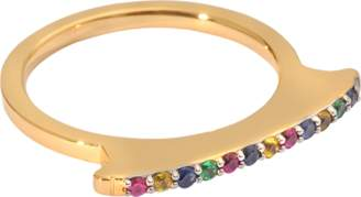 Elizabeth and James Arbus Multicoloured Ring