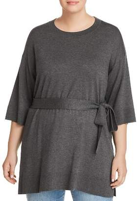 Eileen Fisher Plus Belted Tunic Sweater