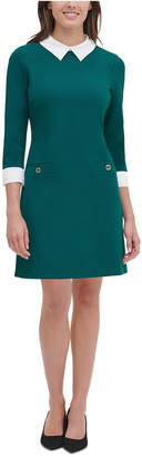 Tommy Hilfiger Collared Shift Dress, Regular & Petite Sizes