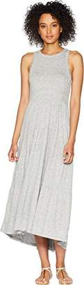 Lucky Brand Women's Short Open Back Smocked Dress