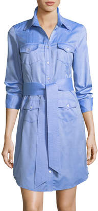 Milly West Oxford Shirting Dress