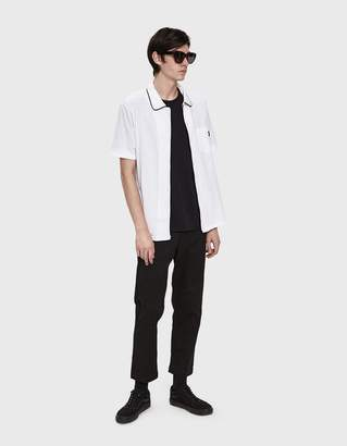 Stussy Sid Mesh Shirt in White