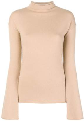 Theory fitted turtle neck jumper