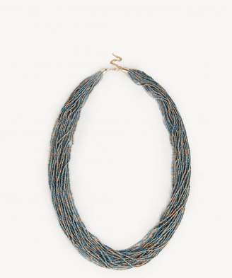 Sole Society Multi Layered Beaded Necklace