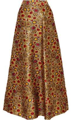 Alice + Olivia Alice+olivia Terilyn Brocade Maxi Skirt