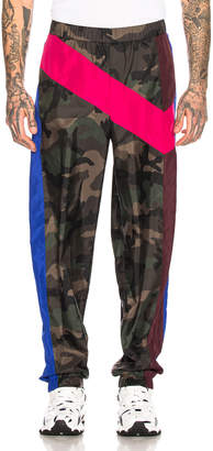 Valentino Trousers in Army Camo | FWRD