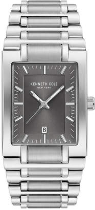 Kenneth Cole New York Men's Stainless Steel Tank Bracelet Watch 40mm