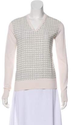 Reed Krakoff Patterned Long Sleeve Top