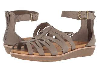 f30090a43272 Teva Brown Leather Footbed Women s Sandals - ShopStyle