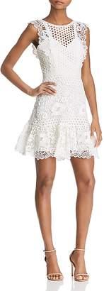 BCBGMAXAZRIA Mixed Lace Dress - 100% Exclusive