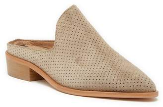 Matt Bernson Inspo Perforated Suede Mule