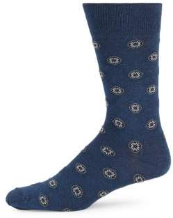 Medallion-Printed Socks $20 thestylecure.com