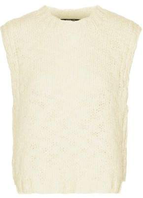 Derek Lam Open-Knit Wool Vest