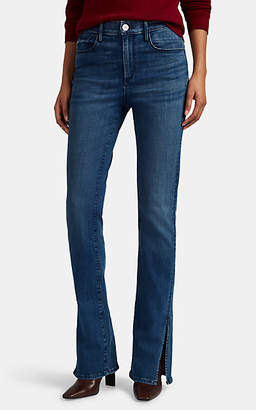 3x1 Women's High-Rise Flared Jeans - Blue