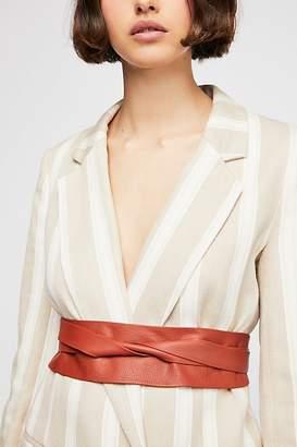 Ada Collection Leather Obi Belt