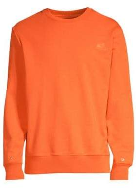 Helmut Lang Snap Cotton Sweatshirt