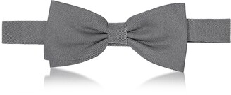 Forzieri Woven Silk Pre-tied Bow Tie