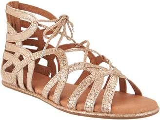 Kenneth Cole Gentle Souls By Gentle Souls Leather Lace-up Sandals - Break My Heart