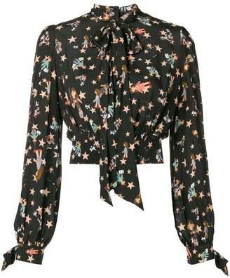 Elisabetta Franchi star doll blouse