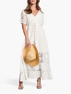 Hush Joline Lace Dress, Off White