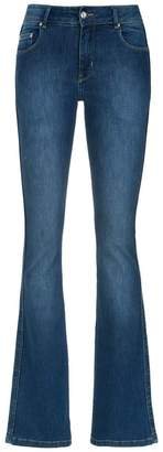 Amapô flared denim trousers