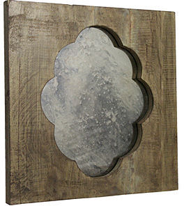 Regina Andrew Mirror, Square Scalloped 18x18