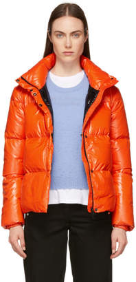 Duvetica Orange Alane Down Jacket