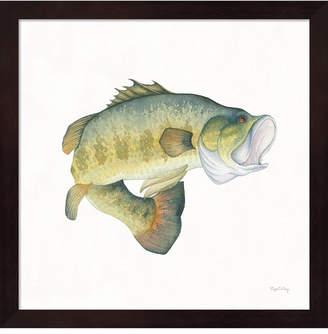 Metaverse Gone Fishin Large Mo By Elyse Deneige Framed Art