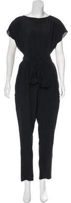 Rachel Comey Silk Cropped Jumpsuit