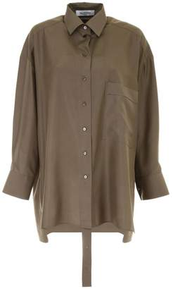 Valentino Silk Shappe Blouse