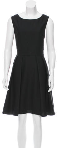 Kate SpadeKate Spade New York Bow-Accented A-Line Dress