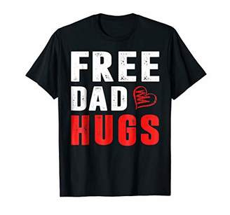 Free Dad Hugs T-Shirt for Men Father