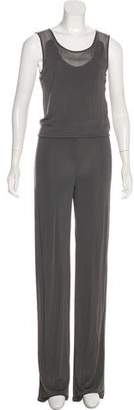 Max & Co. MAX&Co. Sleeveless Mid-Rise Jumpsuit w/ Tags