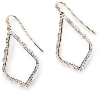 Kendra Scott Sophia Pave Diamond Drop Earrings
