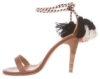 Ulla Johnson Leather Tassel Sandals w/ Tags