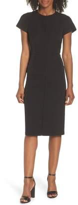 Maggy London Dream Crepe Sheath Dress (Regular & Petite)