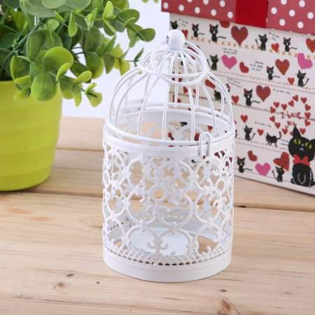 RANGE 3 PCS Hollow Out Candle Holder Hanging Candleholder Bird Cage Candlestick