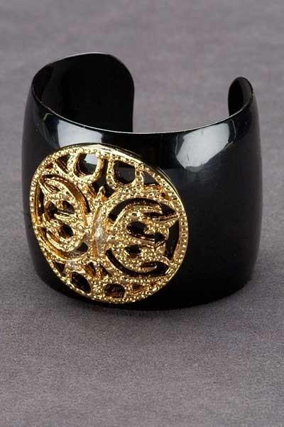 CC Skye Enamel Cuff Bracelet