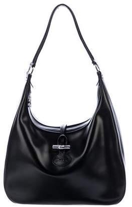 Longchamp Smooth Leather Hobo