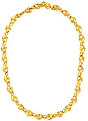 Carrera y 18K Horse Link Necklace