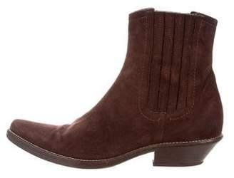 Duccio Del Duca Pointed-Toe Ankle Boots