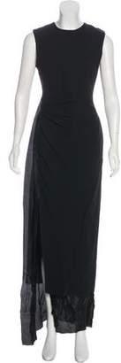 Acne Studios Sleeveless Asymmetrical Dress