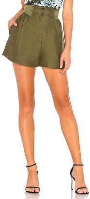 Fleur Du Mal Pleated Shorts
