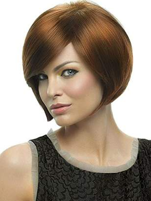 Hair U Wear Layered Bob Color R3329S+ - Hairdo Wigs Soft Side Swept Bang Tru2Life Heat Friendly Synthetic Volume Sleek Curves